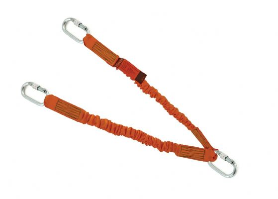 5x Elasticated <br>Twin&#8209;Lanyards